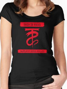 This Is Hell Bastards Still Remain Women's Fitted Scoop T-Shirt