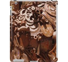 Rusty sculpture iPad Case/Skin