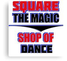 square dance design Canvas Print