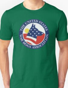 The United States War Dogs Unisex T-Shirt