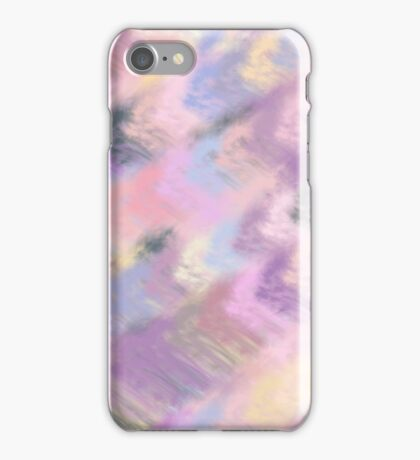 fluffy pastel iPhone Case/Skin