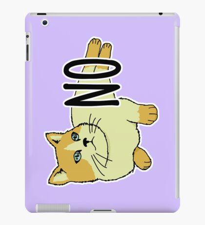 NO - Feminist Cat iPad Case/Skin