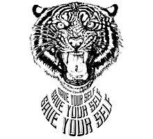 Save Your Self - Tiger Photographic Print