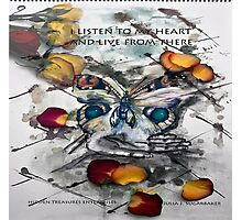 Message from the Heart Photographic Print