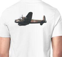 Avro, Lancaster, British, Bomber, RAF, Union Jack, WW11, Second World War, Heavy bomber Unisex T-Shirt