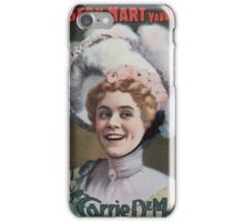 Performing Arts Posters Joseph Hart Vaudeville Co direct from Weber Fields Music Hall NY 0960 iPhone Case/Skin
