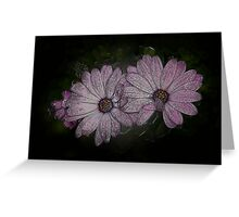 Icy Purple Passion Greeting Card