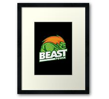 Beast Power Framed Print