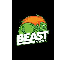 Beast Power Photographic Print