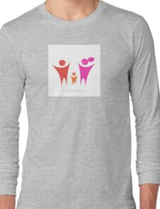 Family, Community and people icon Long Sleeve T-Shirt