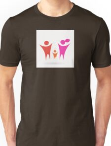 Family, Community and people icon Unisex T-Shirt