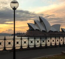 Opera House and dawn light Sticker