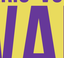"""Wah"" - Wario 2014 Sticker and Poster? Sticker"