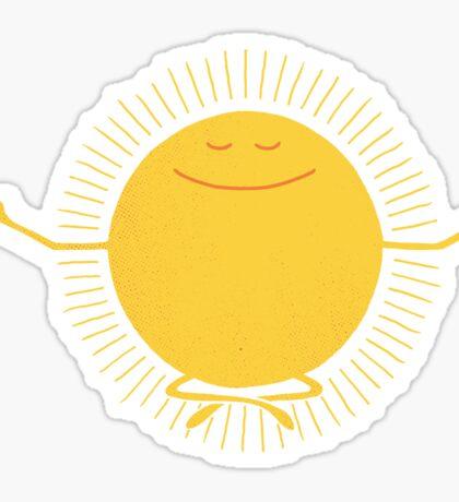 Sun Worshipper Sticker