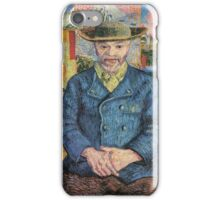 Vincent Van Gogh - Portrait Of Pere Tanguy, 1887 01 iPhone Case/Skin