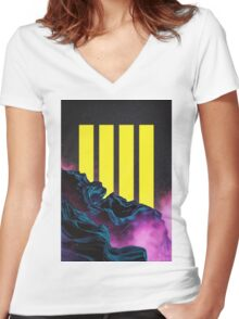 Tetra Women's Fitted V-Neck T-Shirt