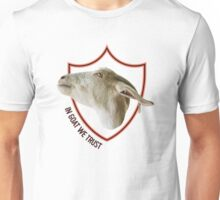 IN GOAT WE TRUST Unisex T-Shirt