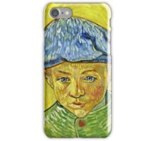 Vincent Van Gogh - Portrait Of Camille Roulin, November 1888 - December 1888  iPhone Case/Skin