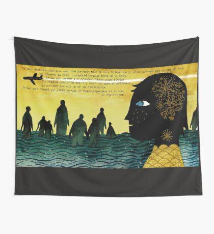 Le Cap Tarmasz tapestry/tenture + Texte Fr © E.Tchijakoff Wall Tapestry