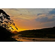 Thurra Sunset Haze Photographic Print
