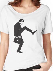 Silly Walk Monty Python Inspired Women's Relaxed Fit T-Shirt