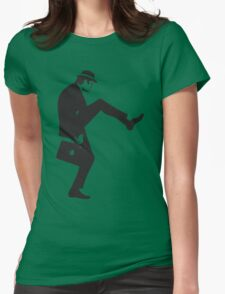 Silly Walk Monty Python Inspired Womens Fitted T-Shirt