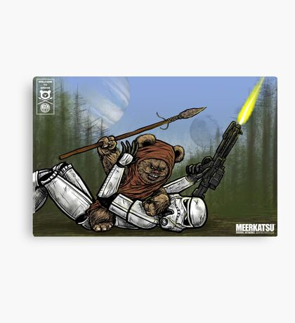 Welcome to Endor Canvas Print