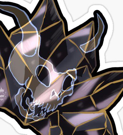 Cursed Crystal - Familar Sticker