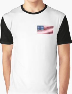 WAR FLAG, AMERICAN, Stars & Stripes, US Flag, 48 stars. Used 47 years, July 4, 1912, to July 3, 1959. Graphic T-Shirt