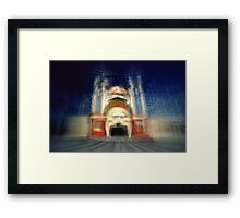 Luna Park, St Kilda, 15 August 2014 Framed Print