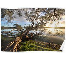 Lake Bambun - Gin Gin - Western Australia Poster