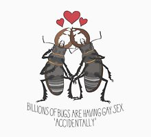 Beetle boyfriends Unisex T-Shirt