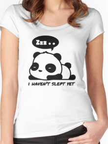 Zzz Haven't Slept Yet Women's Fitted Scoop T-Shirt