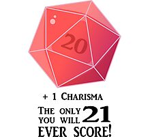 D20 - The Only Score Photographic Print