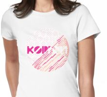 Koippon Peach Womens Fitted T-Shirt