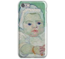 Vincent Van Gogh - Marcelle Roulins Baby, 1888 01 iPhone Case/Skin