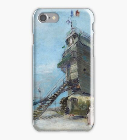 Vincent Van Gogh - Le Moulin De La Galette, 1886 04 iPhone Case/Skin