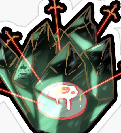 Cursed Crystals - Oculus Sticker