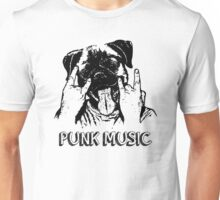Punk Music Dog Unisex T-Shirt