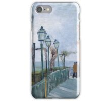 Vincent Van Gogh - Montmartre - Terrace And Observation Deck At  Moulin De Blute-Fin, 1886 iPhone Case/Skin