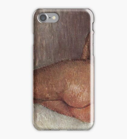 Vincent Van Gogh - Nude Woman Reclining, Seen From  Back, 1887 iPhone Case/Skin