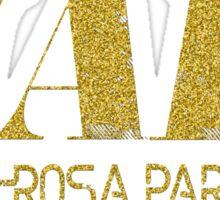 Black Girl Magic Nah Rosa Parks 1955 BLM Black Lives Matter Faux Gold Glitter Bling Melanin African Queen Sticker