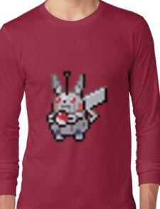 Robot Pikachu Long Sleeve T-Shirt