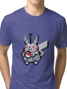 Robot Pikachu Tri-blend T-Shirt