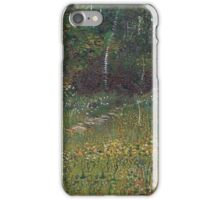 Vincent Van Gogh - Park At Asnieres In Spring, 1887 iPhone Case/Skin