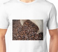 Roasted coffee beans Unisex T-Shirt