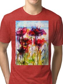 Poppy Love Tri-blend T-Shirt