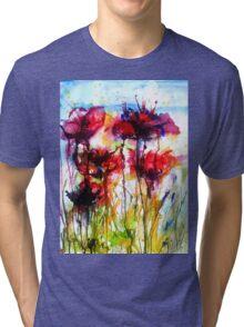 Poppy Love Tri-blend T-Shirt