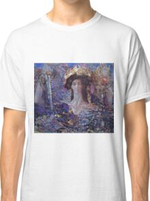 Mikhail Vrubel - Six Winged Seraphim 1904 Classic T-Shirt