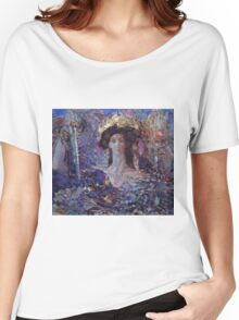 Mikhail Vrubel - Six Winged Seraphim 1904 Women's Relaxed Fit T-Shirt